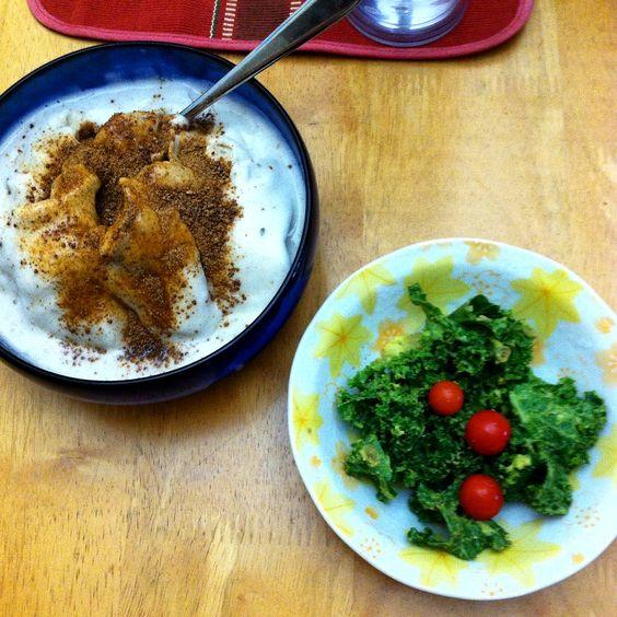 Super easy raw vegan dinner idea