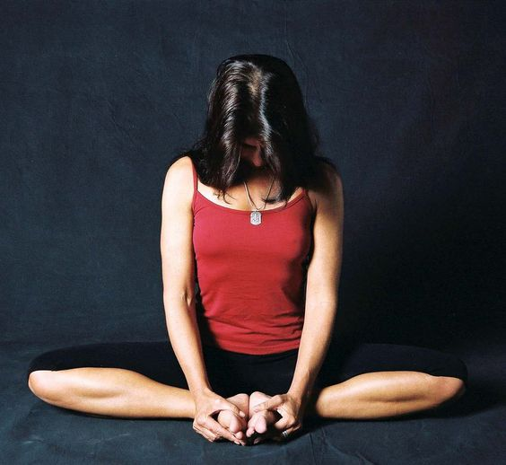 Badha Konasana Or Butterfly Pose