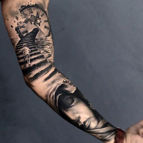 125 Best Arm Tattoos For Men Cool Ideas Designs 2020 Guide Arm Tattoos For Guys Sleeve Tattoos Tattoo Sleeve Designs