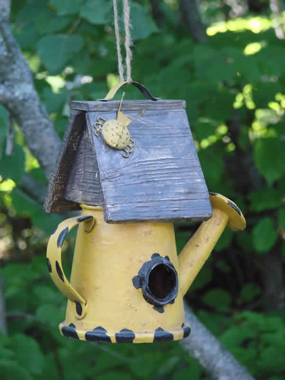 Water Can Bird House:
