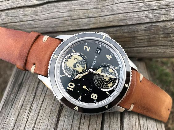 """While the automatic, chronograph and Minerva versions of the 1858 collection bear a strong resemblance to the existing 1858 watches, the Geosphere is something else entirely. It's also a watch that speaks most directly to the """"spirit of mountain exploration"""" that underpins the line. Like all the ..."""