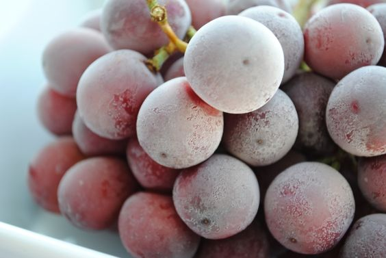 Grapes (frozen grapes are great in the summer)