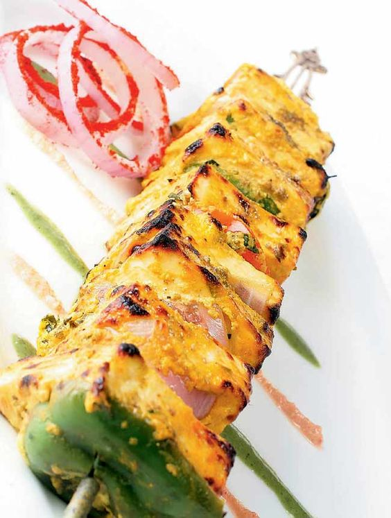 Creamy Grilled Cottage Cheese Indian Food Recipes