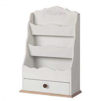 Wandregal Melville - Weiß Kleine Küchen einrichten Pinterest - küchenwagen mit schubladen