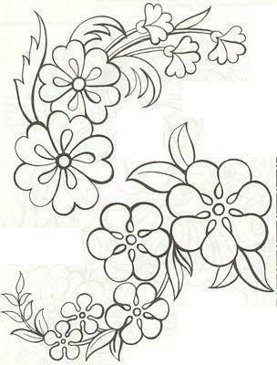 Number Names Worksheets pictures of flowers to trace : Pinterest • The world's catalog of ideas