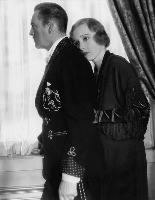 John Barrymore and Madge Evans in Dinner at Eight (1933
