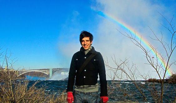 See the rainbows at Niagara Falls