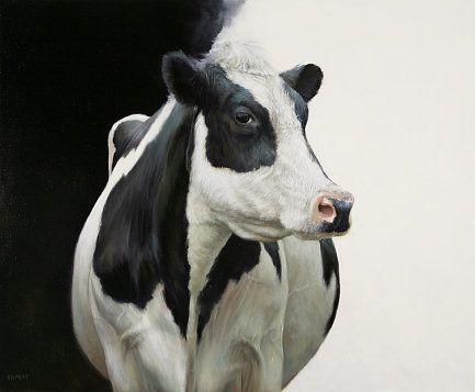 Sold | Black, white and in between, oil/panel 20 x 24 inch (50 x 60 cm) © 2010 Klimas