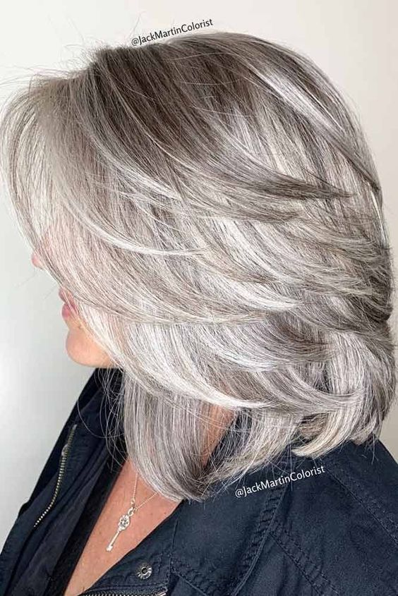 Straight Lob With Feathered Ends  #mediumhair #lobhaircut ❤ Try one of these 55 funky medium length hairstyles for thick hair. Thicker hair can be a pain to style, but with the right cut you can look like a goddess. #lovehairstyles #hair #hairstyles #haircuts