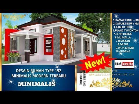Rumah Unik Di Aceh Rumah Modern Minimalis Terbaru Type 192 Terbaru Youtube Di 2020 Desain Rumah Rumah Desain Produk