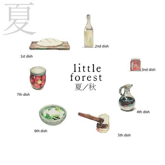 小森林-大白胖子__涂鸦王国插画