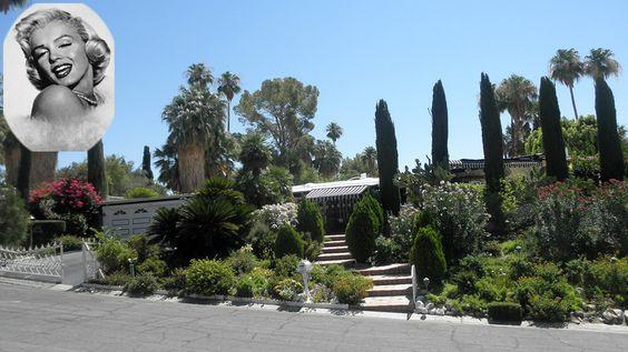 Marilyn monroe 1326 north rose avenue palm springs las for Marilyn monroe palm springs home