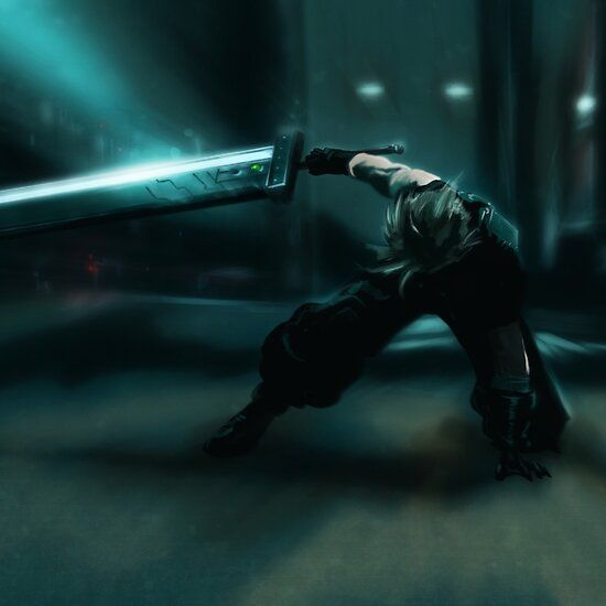 Cloud Strife Ffvii Remake In 2020 Cloud Strife Cool Presents