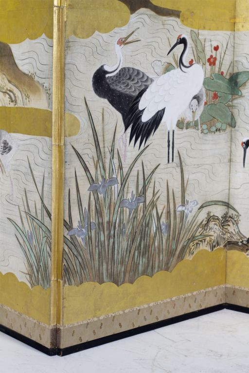 Fine Edo Crane Screen image 6