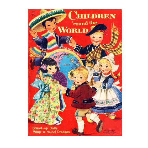 Children Around the World Paper Dolls - PDF (world thinking day)