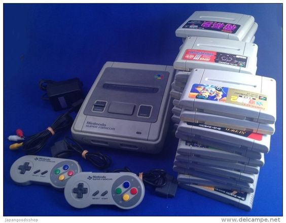 Super Famicom ( Japanese ) + 30 Jeux / + 30 Games ( Used ) http://www.japanstuff.biz/ CLICK THE FOLLOWING LINK TO BUY IT ( IF STILL AVAILABLE ) http://www.delcampe.net/page/item/id,346459132,language,E.html