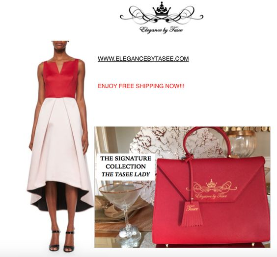The Signature Tasee' Lady: Red