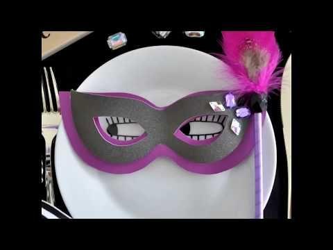ハロウィンの仮装や装飾に 簡単マスカレードマスクの作り方 無料テンプレート ハロウィン party arch days 仮面 作り方 ハロウィン 手作り 飾り 無料テンプレート