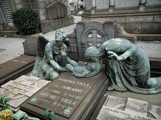 Cimitero Monumentale di Milano, Milan Italy.