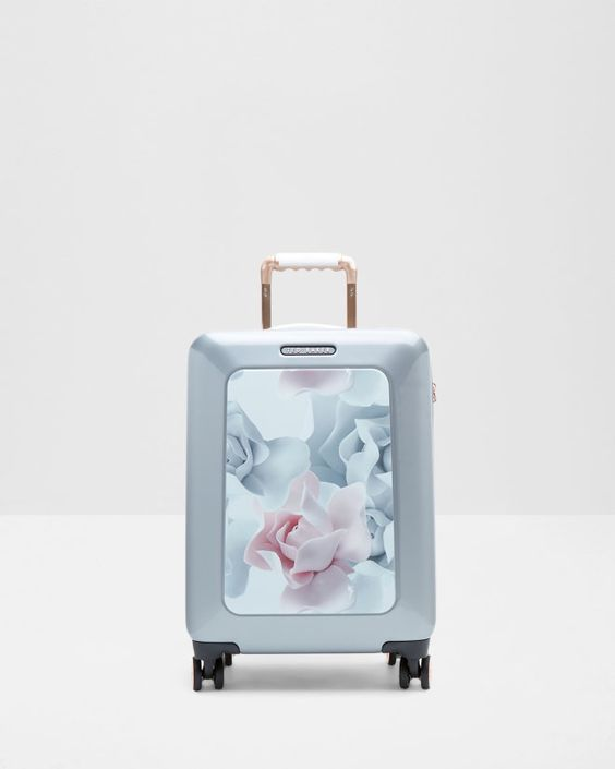 Porcelain Rose small suitcase - Nude Pink | Bags | Ted Baker UK