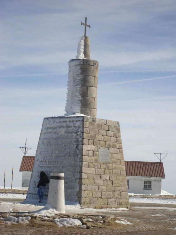 O ponto  mais elevado de Portugal Continental Serra da Estrela!!!!