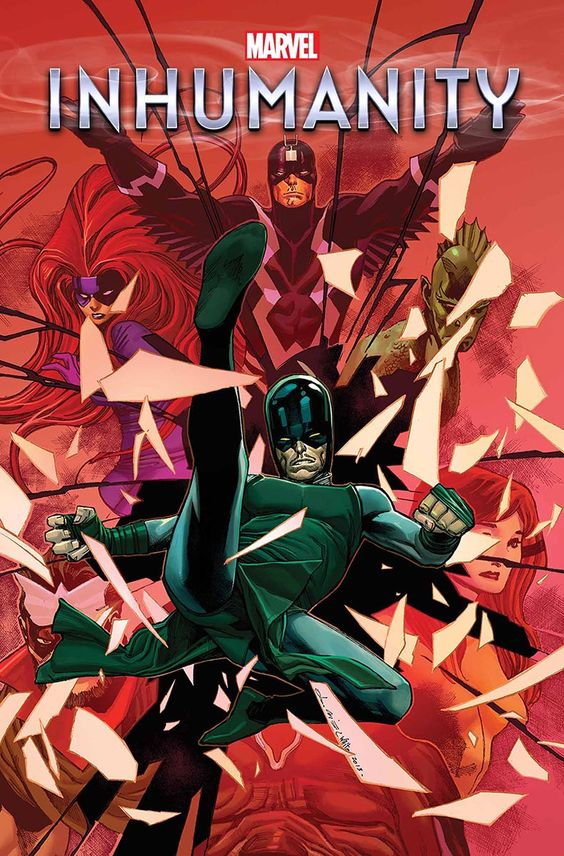 Marvel's teasers revealed as new 'Inhumanity' series, cover also released