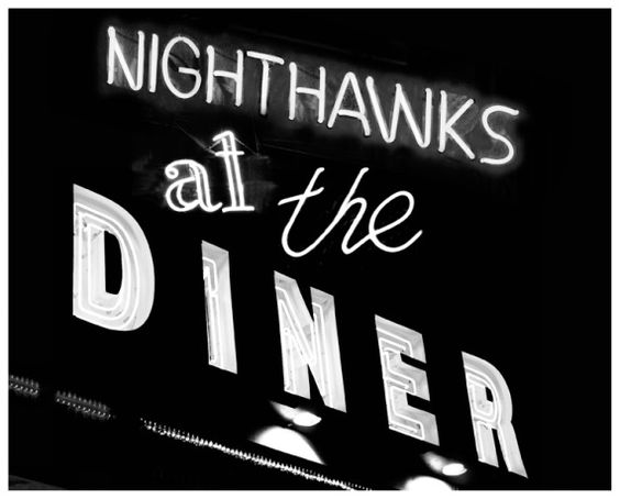 Nighthawks at the Diner