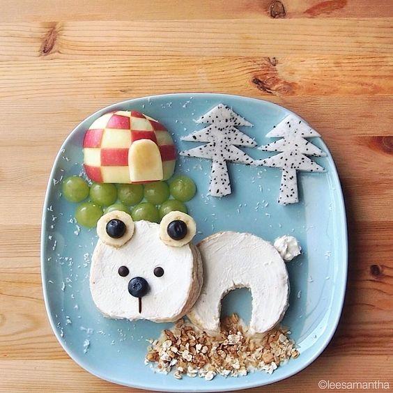 hello, Wonderful - AMAZING FOOD ART FOR KIDS