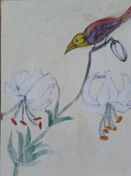 Bird art iara