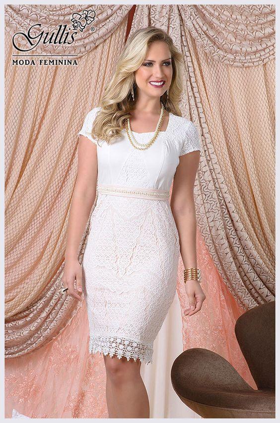 Vestido em cotton com detalhe em renda e cinto em cotton - Kauly: http://www.gullislingerie.com.br/verao-2016-vestido-cotton-detalhe-renda-cinto-cotton-kauly