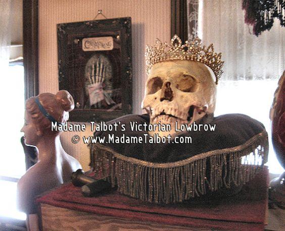King Death on Velvet Pillow