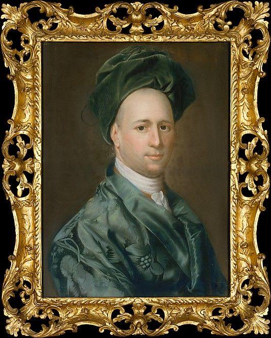 Ebenezer Storer John Singleton Copley (American, Boston, Massachusetts 1738–1815 London) ca. 1767–69 - informally dressed in a banyan and turban: