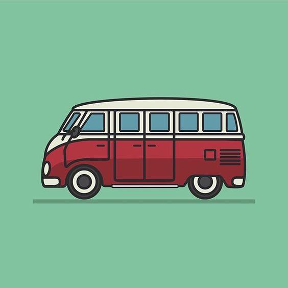 Настало время и ему выйти в свет #illustration #dribbble #bus by http://ift.tt/1D3TZcv