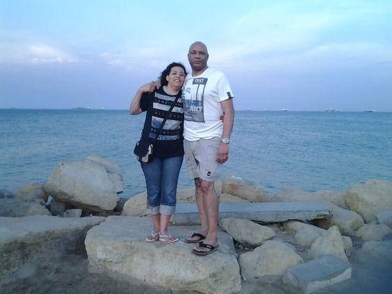 Na ponta da Ilha em Luanda