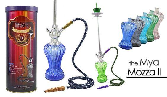 The new and improved Mya Mozza hookah $59.95 #hookahs #420 #cannabis    http://www.cannaswag.com/mya-mozza-2-hookah/