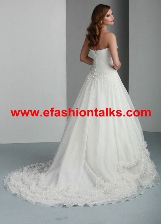 Style 50016 » Wedding Gowns » DaVinci Bridal » Available Colours : Ivory, White (back)