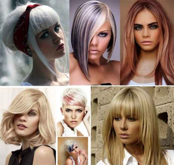 2016 2017 Hair Color Shades of Blond Trendy Hairstyles ...