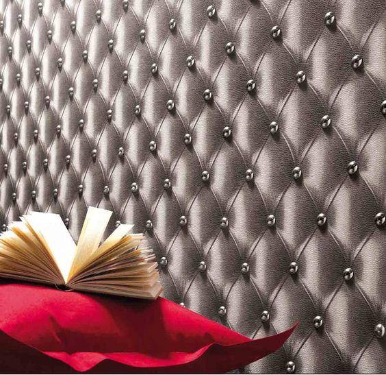 Papeis de parede, tecidos e adesivos.