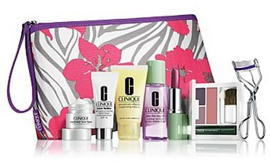 Clinique gift with purchase   8 pcs with $32 purchase