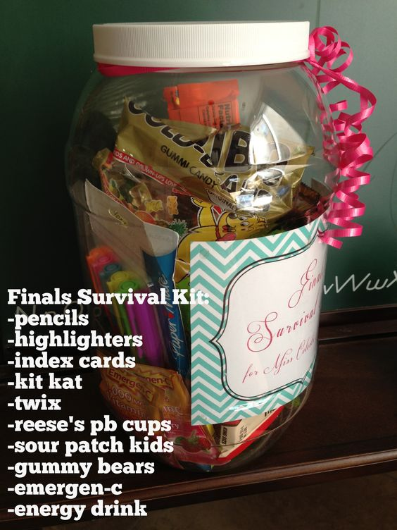 Great gift for high school or college students. Especially during finals