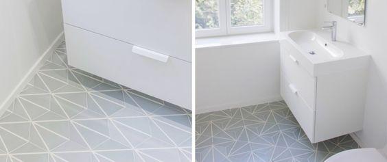 Carreaux ciment - hexagonal tiles dandelion - Auguste et Claire