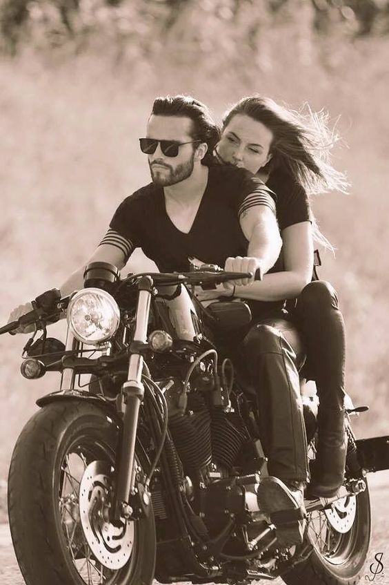 couple motorcycle - Google Zoeken