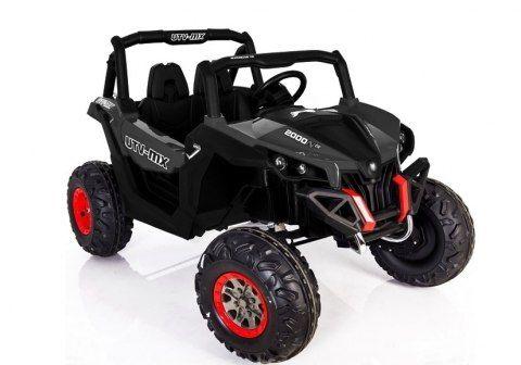 Auto Na Akumulator Jeep Dwuosobowy Buggy Xmx603 Czarny Jeep Auto Buggy