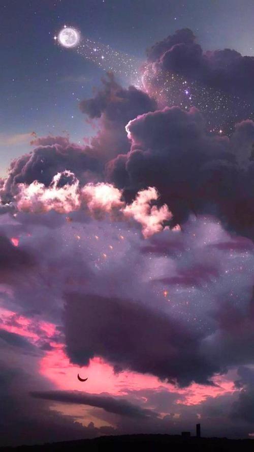 Imagen De Sky Drawing And Aesthetic Sky Aesthetic Aesthetic Wallpapers Aesthetic Backgrounds