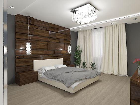 Спальня в современном стиле/ Modern bedroom