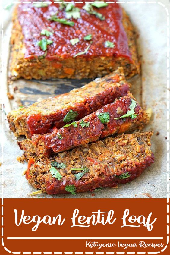 Vegan Lentil Loaf Vegan Meatloaf Lentil Loaf Recipes