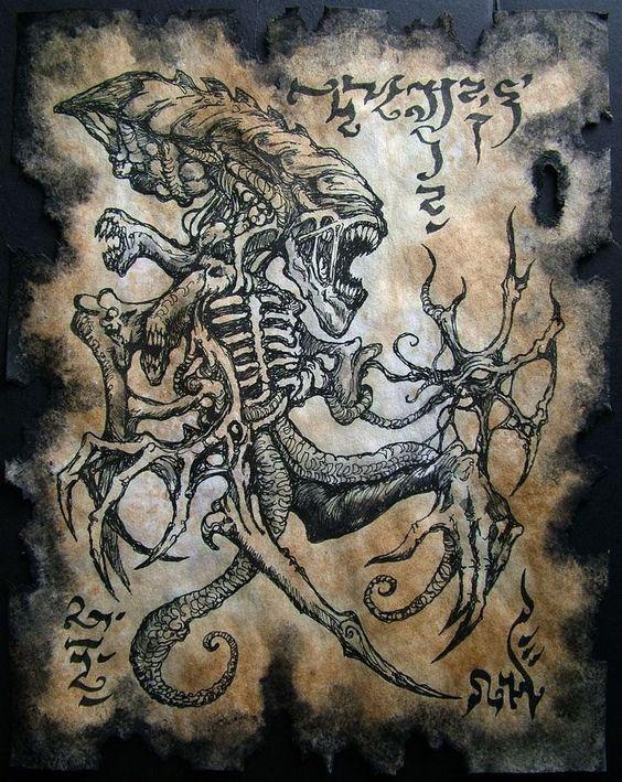 El Necronomicón,un libro salido de los infiernos Ddabc1d73b6659c1f6addfb2f4302027