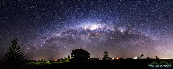 Awesome Milky Way Pano #Photography