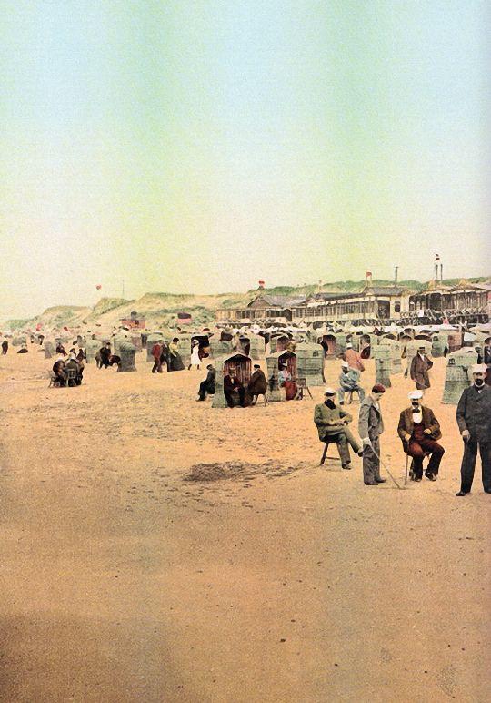 Strand auf Sylt, um 1900