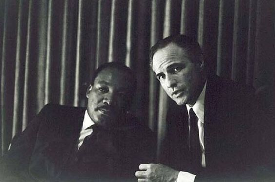 Dr. Martin Luther King Jr. x Marlon Brando